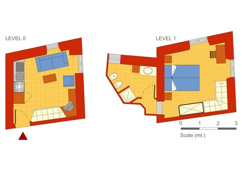 Pимской Апартамент Palazzo Massimo.